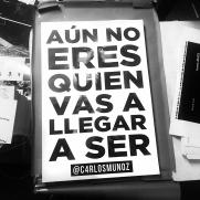 Impresión carteles Carlos Muñoz
